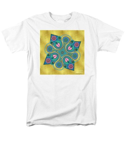 Something3 Men's T-Shirt  (Regular Fit) by Megan Dirsa-DuBois