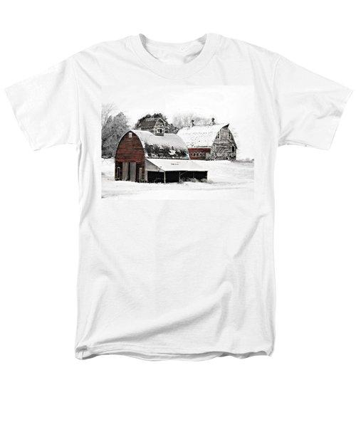 South Dakota Farm Men's T-Shirt  (Regular Fit)