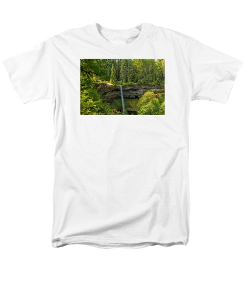 Men's T-Shirt  (Regular Fit) featuring the photograph South Falls 0417 by Tom Kelly