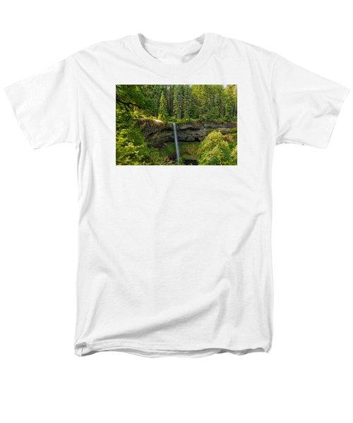 South Falls 0417 Men's T-Shirt  (Regular Fit) by Tom Kelly