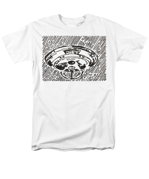 Space 2 2015 - Aceo Men's T-Shirt  (Regular Fit) by Joseph A Langley