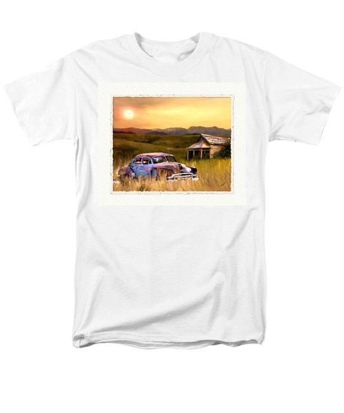 Spent Men's T-Shirt  (Regular Fit) by Susan Kinney