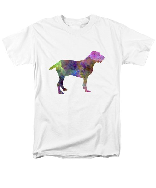 Spinone In Watercolor Men's T-Shirt  (Regular Fit) by Pablo Romero