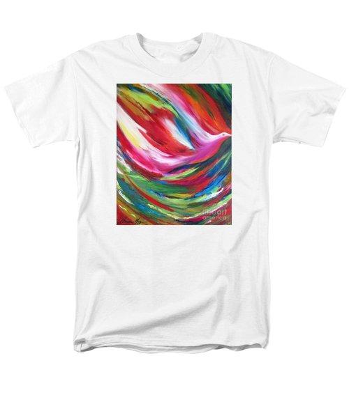 Spirit Takes Flight Men's T-Shirt  (Regular Fit) by Denise Hoag