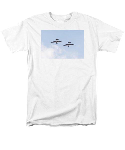 Spitfires Loop Men's T-Shirt  (Regular Fit) by Gary Eason