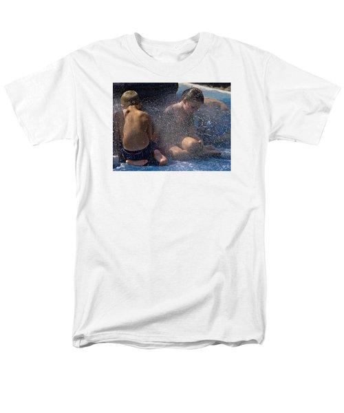 Men's T-Shirt  (Regular Fit) featuring the photograph Splish Splash Summer by Laura Ragland