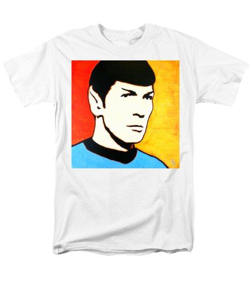 Spock Vulcan Star Trek Pop Art Men's T-Shirt  (Regular Fit) by Bob Baker