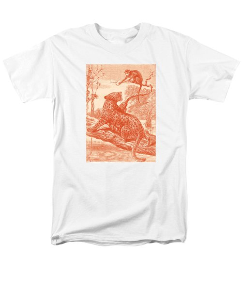 Men's T-Shirt  (Regular Fit) featuring the drawing Spotted by David Davies