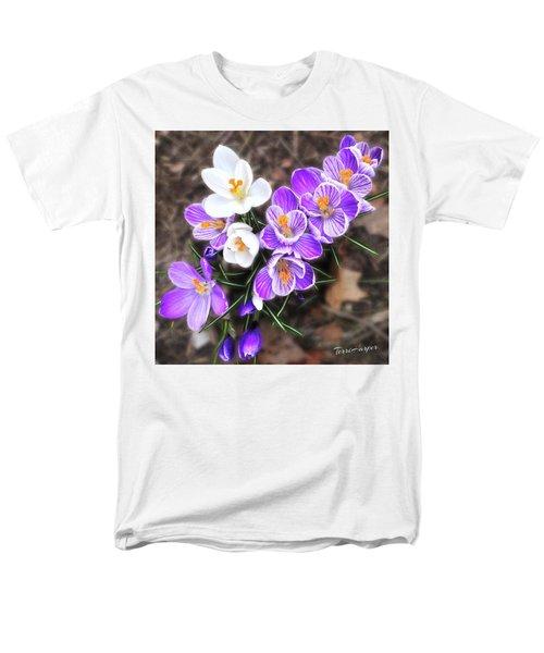 Spring Beauties Men's T-Shirt  (Regular Fit) by Terri Harper