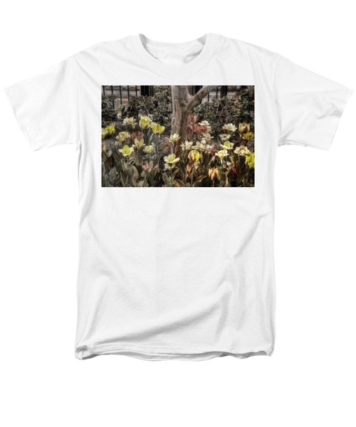 Men's T-Shirt  (Regular Fit) featuring the photograph Spring Flowers by Joann Vitali