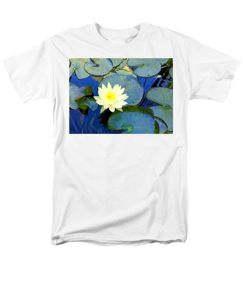 Spring Lily Men's T-Shirt  (Regular Fit) by Angela Annas