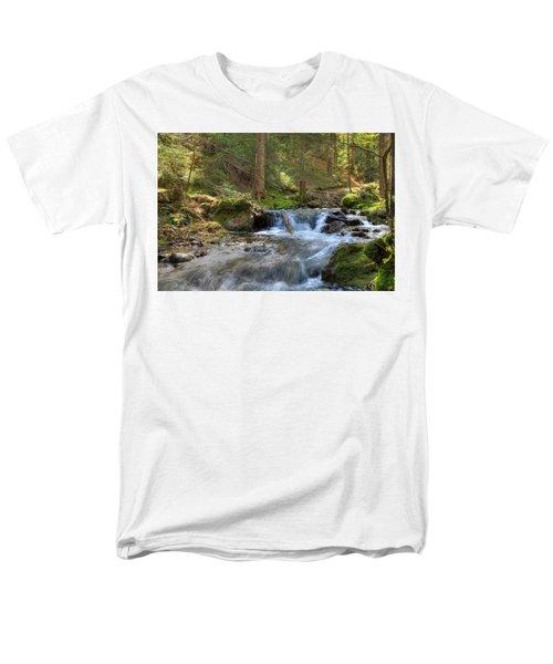 Spring Run Off Men's T-Shirt  (Regular Fit) by Sean Allen