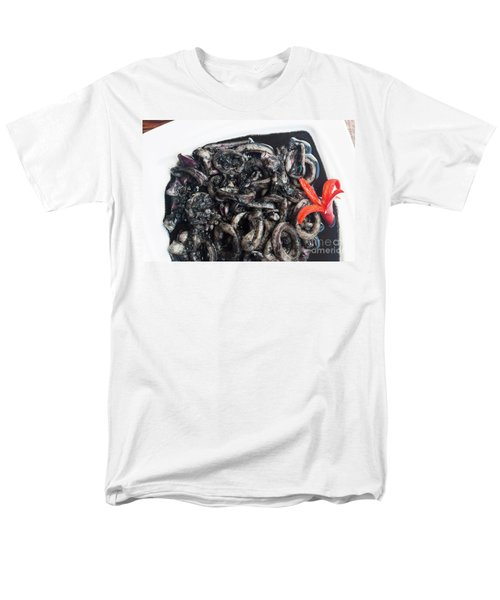 Men's T-Shirt  (Regular Fit) featuring the photograph Squid In Ink by Atiketta Sangasaeng