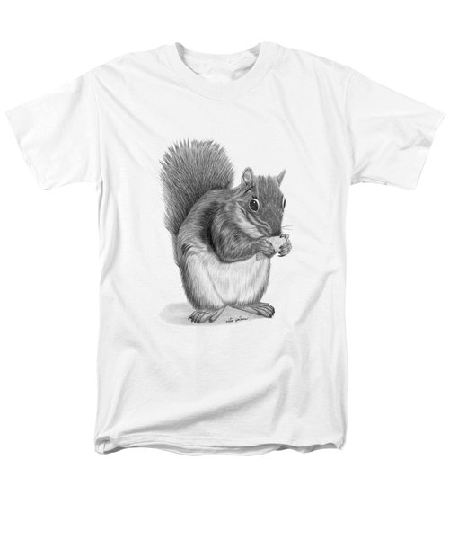 Squirrel #2 Men's T-Shirt  (Regular Fit) by Rita Palmer