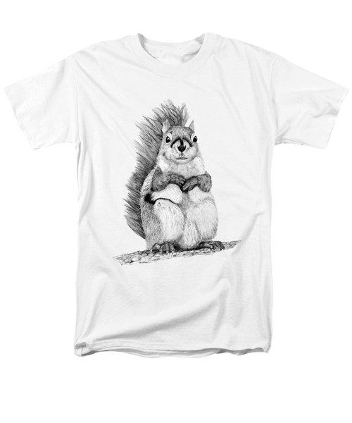 Squirrel Men's T-Shirt  (Regular Fit) by John Stuart Webbstock
