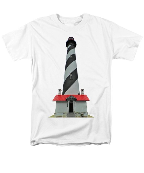 St Augustine Lighthouse Transparent For T Shirts Men's T-Shirt  (Regular Fit) by D Hackett
