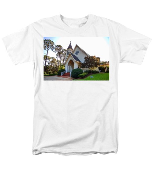 Men's T-Shirt  (Regular Fit) featuring the photograph St. James V2 Fairhope Al by Michael Thomas
