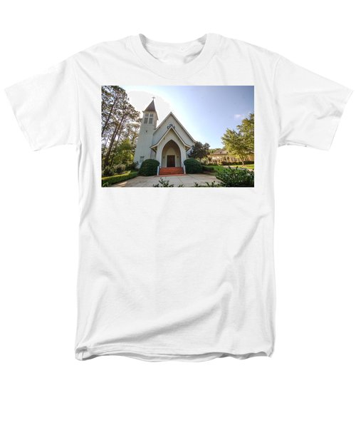 Men's T-Shirt  (Regular Fit) featuring the photograph St. James V3 Fairhope Al by Michael Thomas