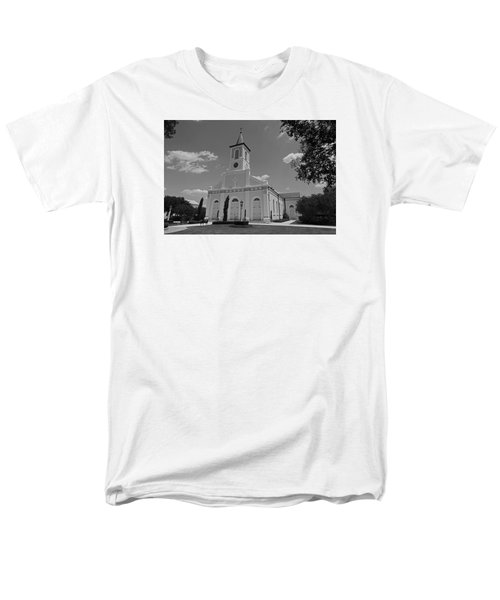 St. Martinville Church Men's T-Shirt  (Regular Fit) by Ronald Olivier