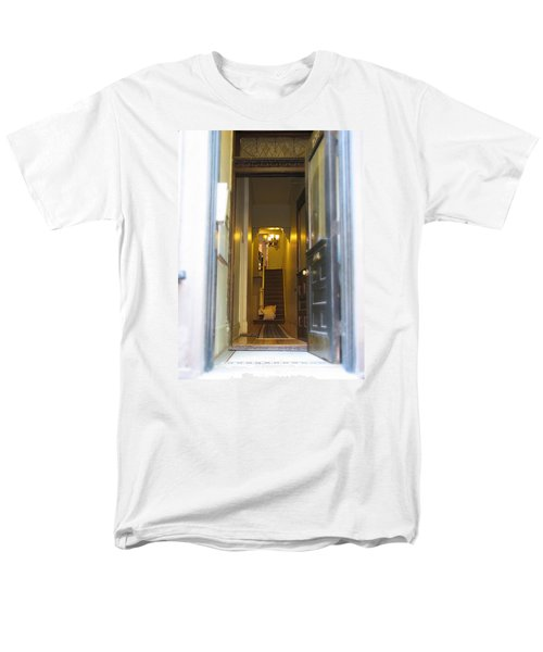 Men's T-Shirt  (Regular Fit) featuring the photograph Stairs by Christopher Woods
