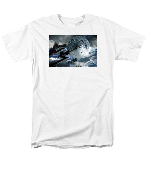 Star Trek Into Darkness, Original Mixed Media Men's T-Shirt  (Regular Fit) by Thomas Pollart