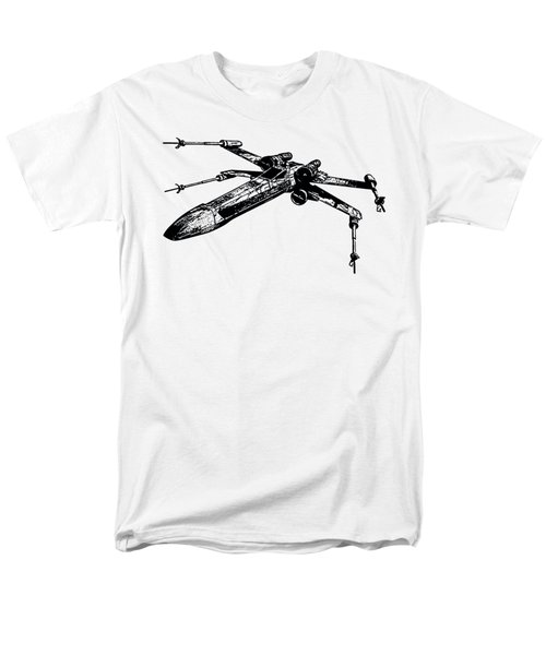 Star Wars T-65 X-wing Starfighter Tee Men's T-Shirt  (Regular Fit) by Emf