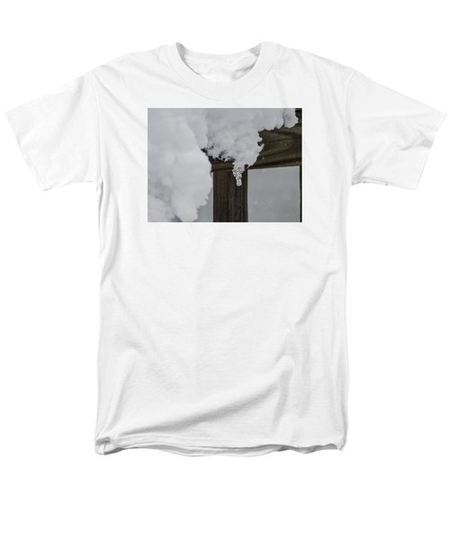 Men's T-Shirt  (Regular Fit) featuring the photograph Start Of The Avalanche by Deborah Smolinske