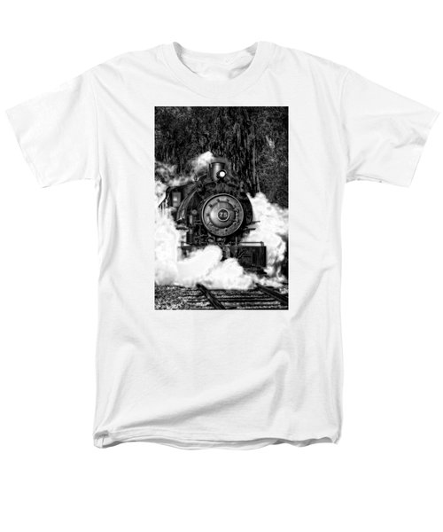 Steam Engine Jan 2016 In Hdr Men's T-Shirt  (Regular Fit) by Michael White