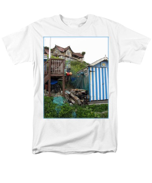 Steephill Cove Men's T-Shirt  (Regular Fit) by Carla Parris