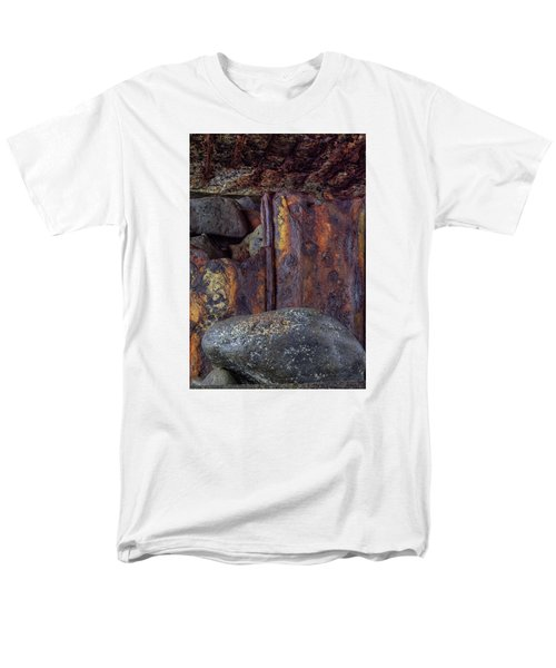 Rusted Stones 2 Men's T-Shirt  (Regular Fit) by Steve Siri