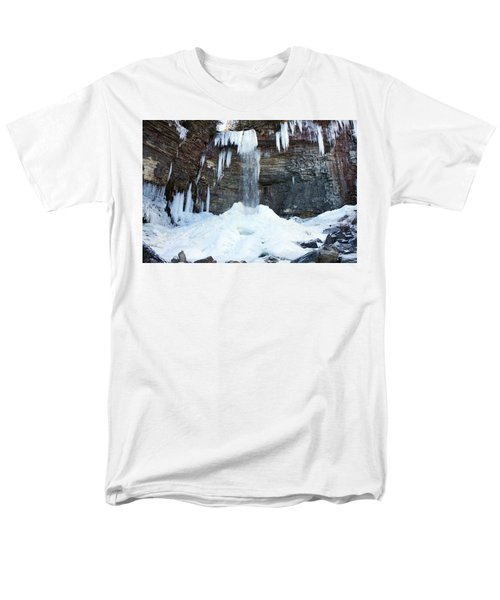 Men's T-Shirt  (Regular Fit) featuring the photograph Stony Kill Falls In February #2 by Jeff Severson
