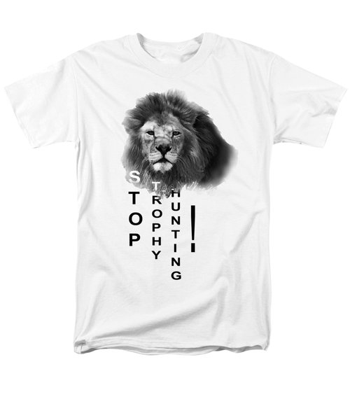 Men's T-Shirt  (Regular Fit) featuring the photograph Stop Trophy Hunting 02 by Jivko Nakev