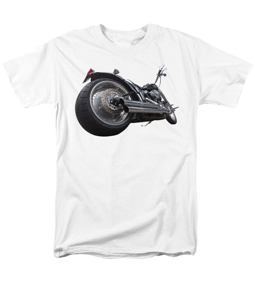 Storming Harley Men's T-Shirt  (Regular Fit) by Gill Billington
