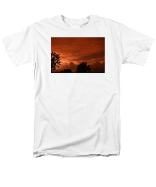 Stormy Sunset Men's T-Shirt  (Regular Fit)