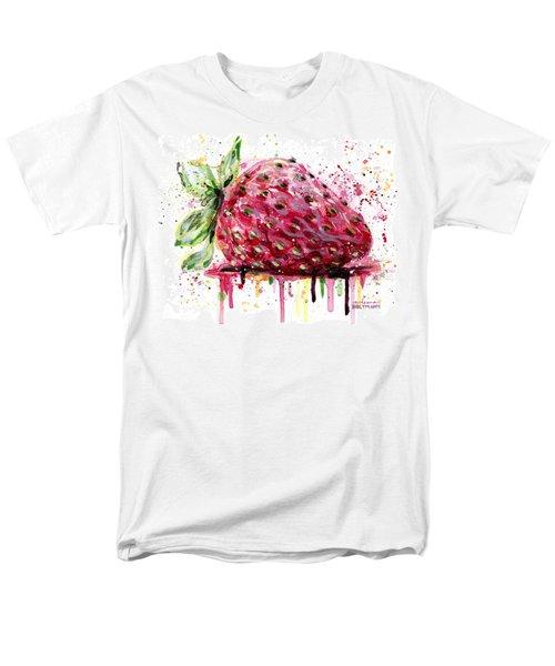 Strawberry 2 Men's T-Shirt  (Regular Fit) by Arleana Holtzmann