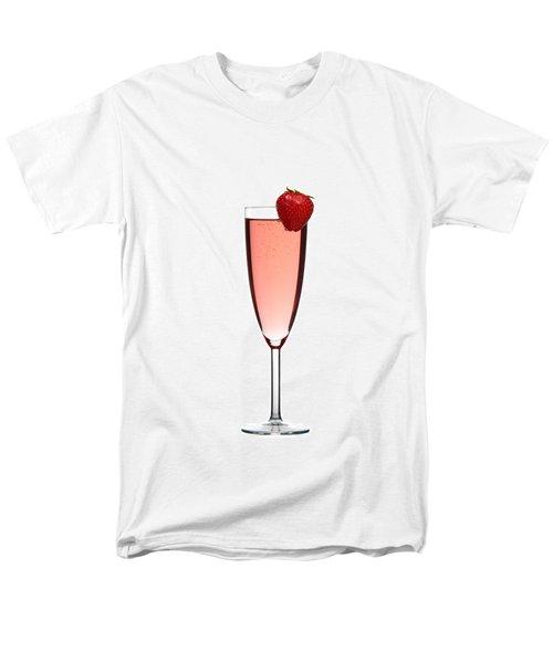 Strawberry Champagne Men's T-Shirt  (Regular Fit) by Gert Lavsen