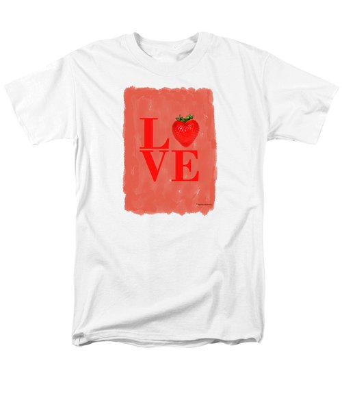 Strawberry Men's T-Shirt  (Regular Fit) by Mark Rogan