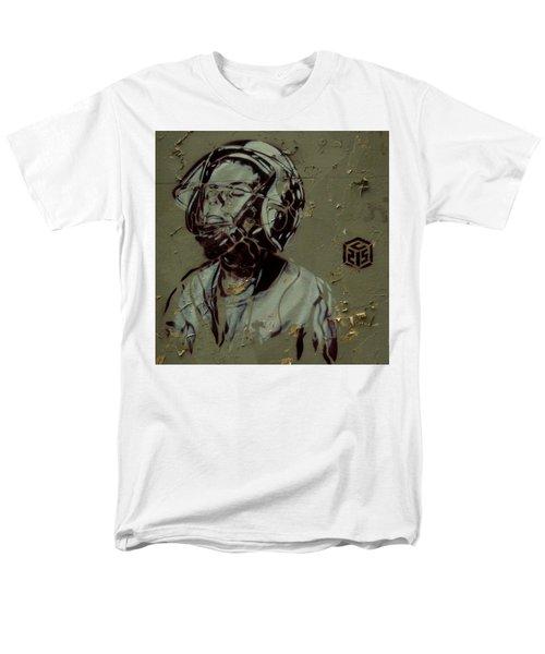 Men's T-Shirt  (Regular Fit) featuring the painting Street Art by Sheila Mcdonald