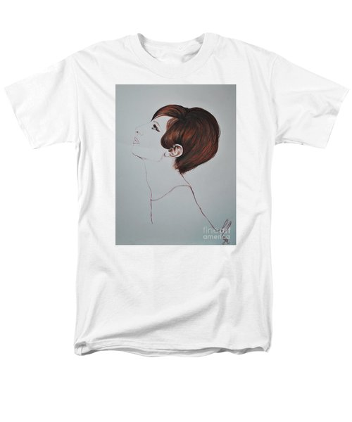 Barbra Streisand Men's T-Shirt  (Regular Fit) by Maja Sokolowska