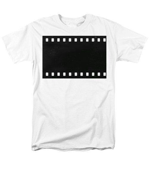 Strip Of Old Celluloid Film With Dust And Scratches Men's T-Shirt  (Regular Fit) by Michal Boubin