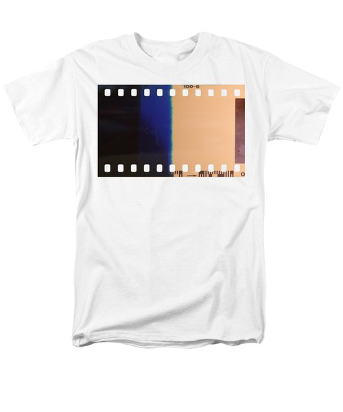 Strip Of The Poorly Exposed And Developed Celluloid Film Men's T-Shirt  (Regular Fit) by Michal Boubin