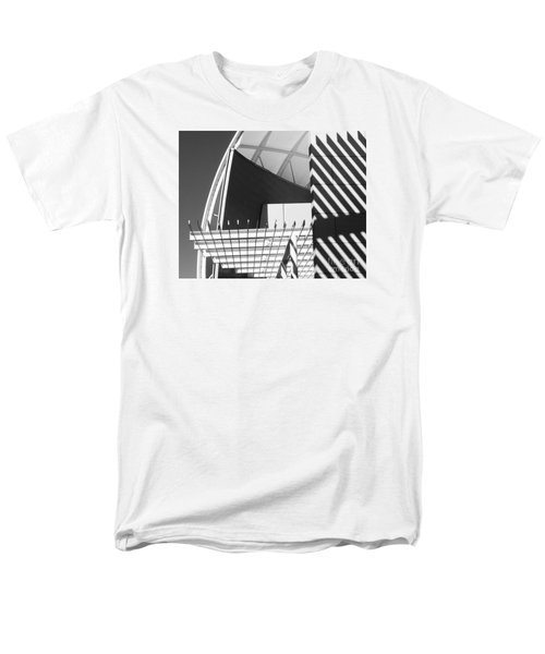 Men's T-Shirt  (Regular Fit) featuring the photograph Structure Abstract 3 by Cheryl Del Toro