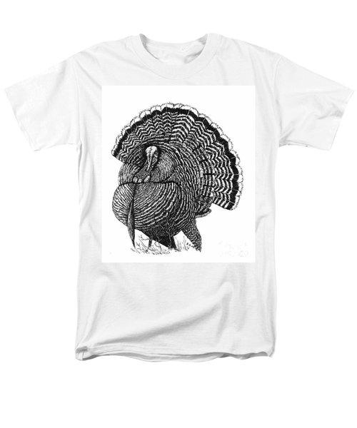 Strutting Gobbler Men's T-Shirt  (Regular Fit)