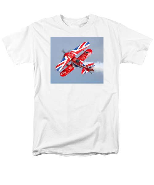 Men's T-Shirt  (Regular Fit) featuring the photograph Stunt Plane by Roy  McPeak