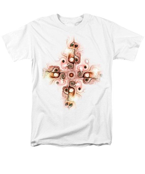 Subtle Cross Men's T-Shirt  (Regular Fit) by Anastasiya Malakhova