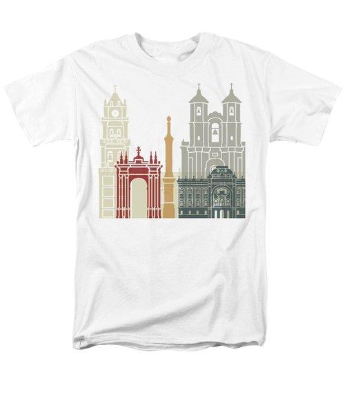 Sucre Skyline Poster Men's T-Shirt  (Regular Fit) by Pablo Romero