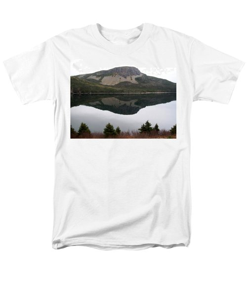 Sugarloaf Hill Reflections Men's T-Shirt  (Regular Fit) by Barbara Griffin