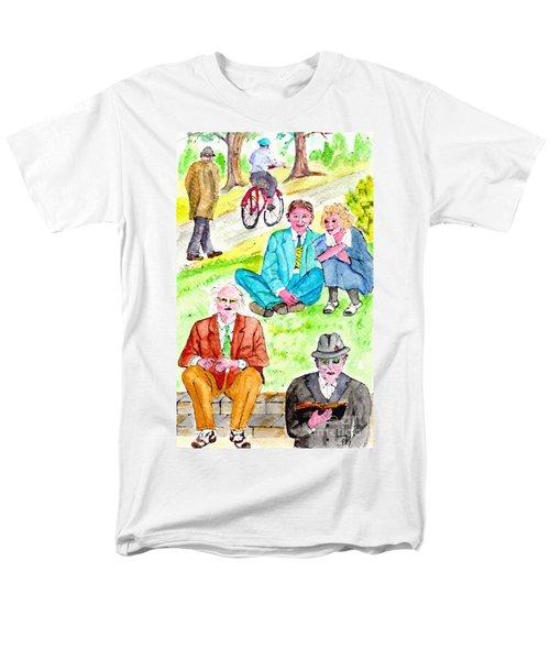Sunday Morning In Prospect Park Men's T-Shirt  (Regular Fit)