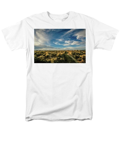 Men's T-Shirt  (Regular Fit) featuring the photograph Sunlight For Photographers by Marilyn Hunt