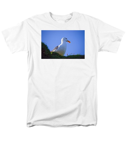 Sunny Perch Men's T-Shirt  (Regular Fit) by Adria Trail